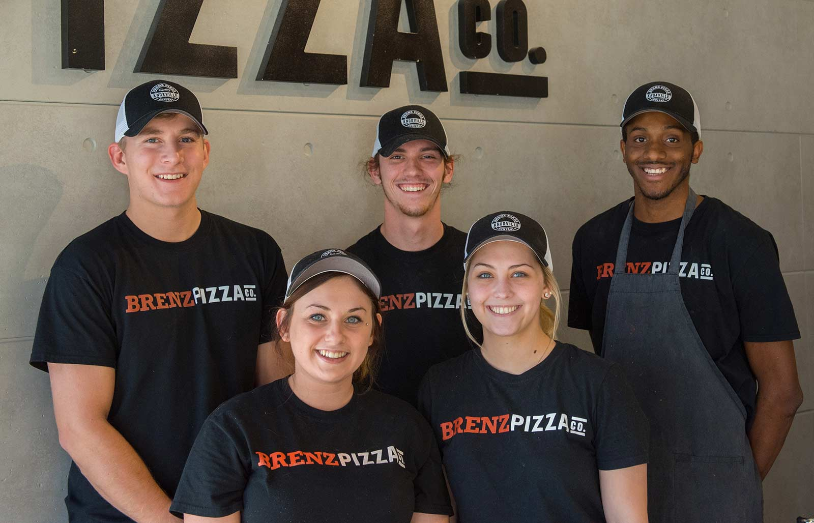 Brenz pizza employees