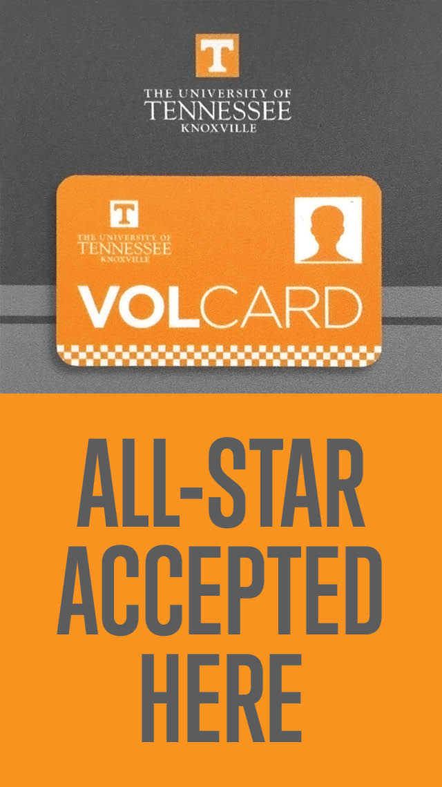 Knoxville Brenz Accepts Vol Card